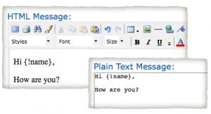 HTML plain