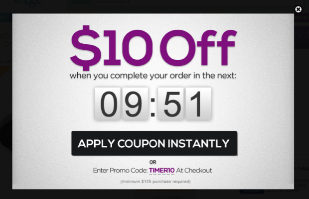 add coupon instantly