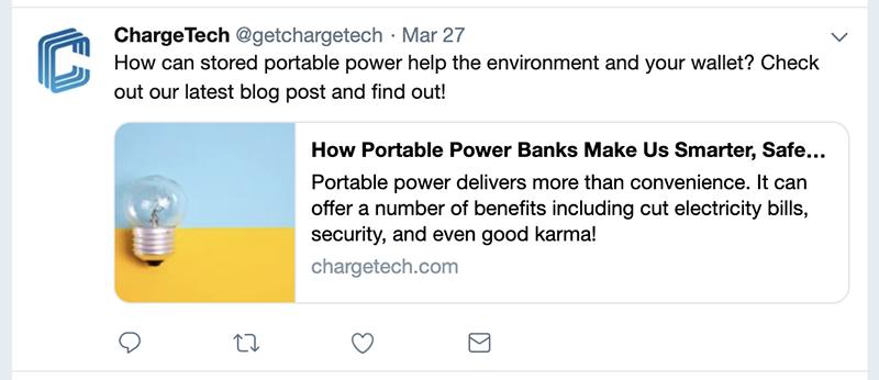 chargetech tweet