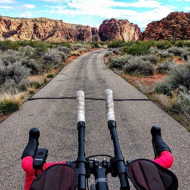 open road, bike path